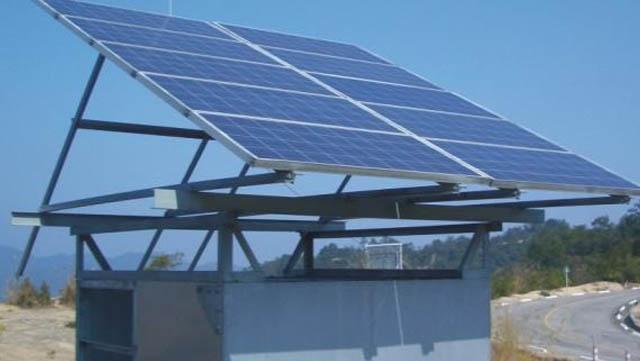 森林防火监控太阳能供电系统方案